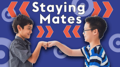 Staying friends in different schools