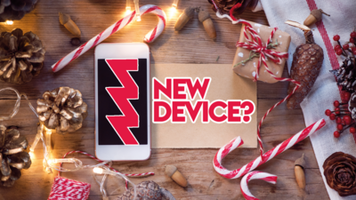 Got a new device over the holidays?