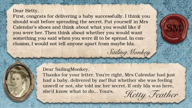 Hetty Feather's Diary: Secret Keeper - CBBC - BBC