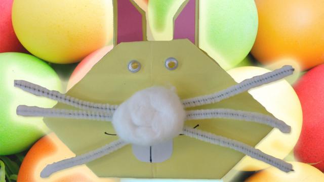 Make An Origami Easter Bunny Cbbc Bbc