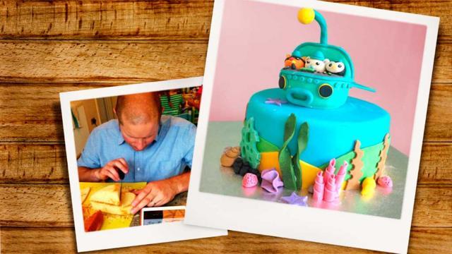Octonauts Underwater Cake