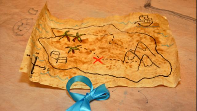 Treasure Map Cbeebies Bbc