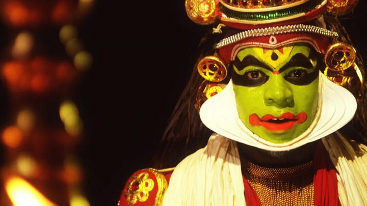 All Over the Place - The Song - Kathakali dance drama
