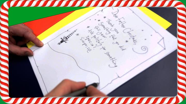 Tips for writing your letter to Santa - CBBC - BBC