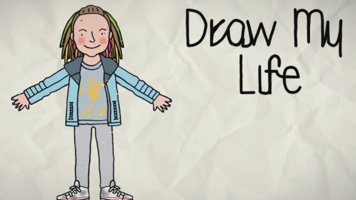 Draw My Life Sasha Cbbc Bbc