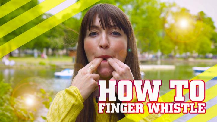 Whistling With Fingers