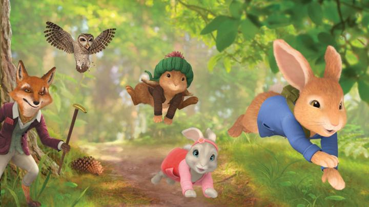 Peter Rabbit Platform Game - Online Games For Kids