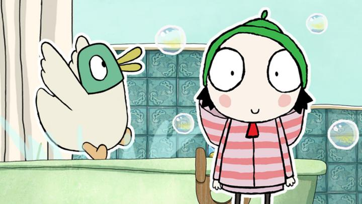 Cake On Sarah And Duck