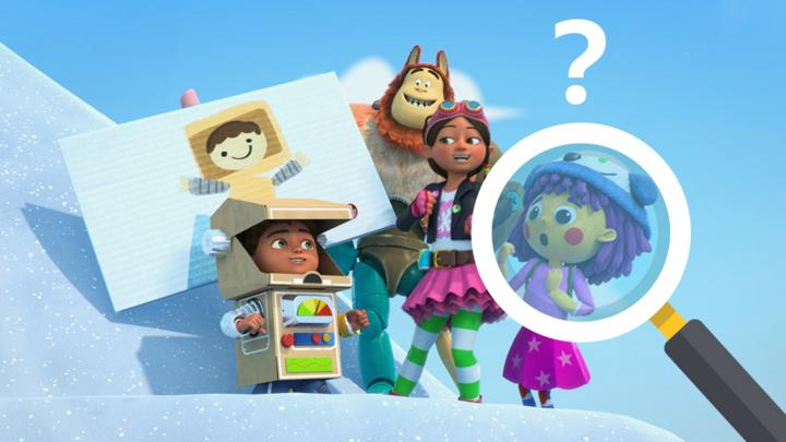Can you spot all the differences in this snowy Bitz & Bob Quiz? - CBeebies - BBC