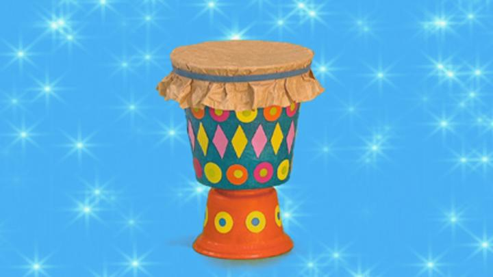 mister maker craft ideas online bongo drum cbeebies 6925