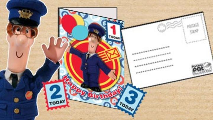 Postman Pat Birthday Card CBeebies BBC – Little Britain Birthday Card