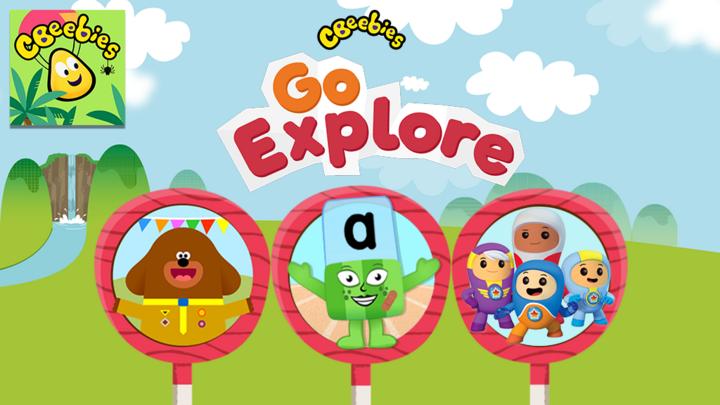 Image result for go explore cbeebies logo