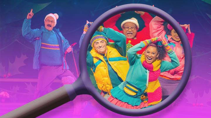 Hansel & Gretel Christmas Show Spot the Difference Quiz online game - CBeebies - BBC
