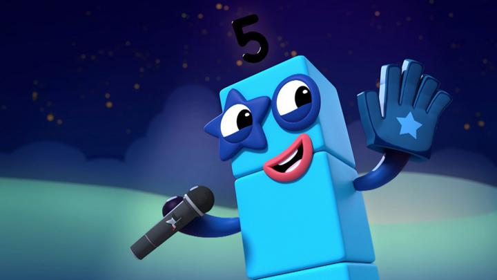 The Five Song - Cbeebies