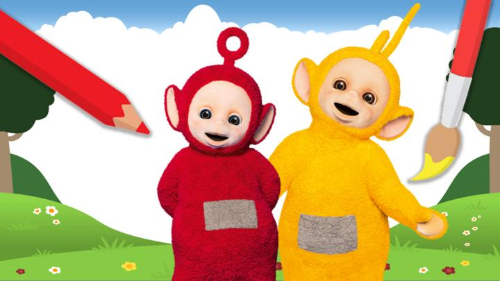 Teletubbies Make A Picture Cbeebies Bbc