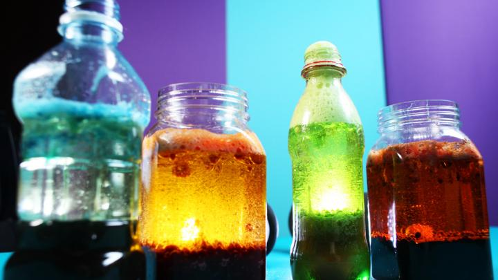 How To Make Lava Lamps Awesome Fizzy Lava Lamp CBeebies BBC