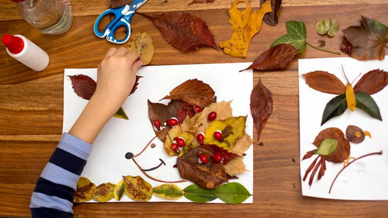 Five Autumn Arts And Crafts Ideas For Kids Cbeebies Bbc
