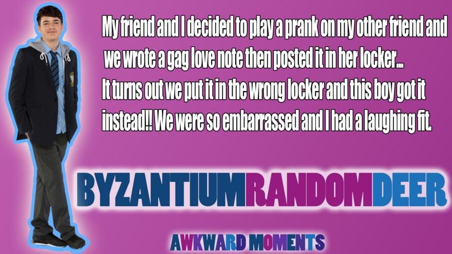 You told us your awkward moments - CBBC - BBC