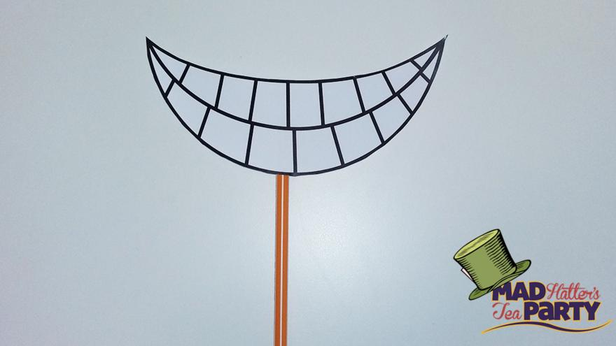 photograph relating to Printable Smile named Generate your personal Cheshire Cat mask - CBBC - BBC