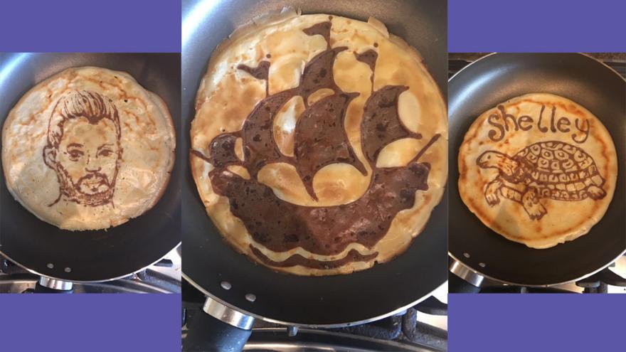 How to make amazing pancake art cbbc bbc ccuart Gallery