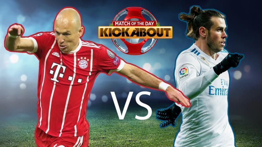 buy online 6bb58 0bcda Vote: Top Tekkers - Robben vs Bale - CBBC - BBC