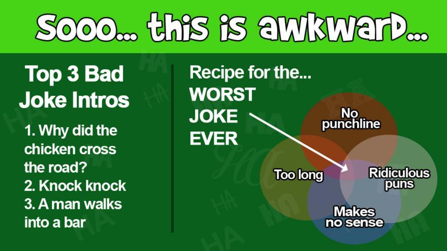 the science behind a bad joke cbbc bbc