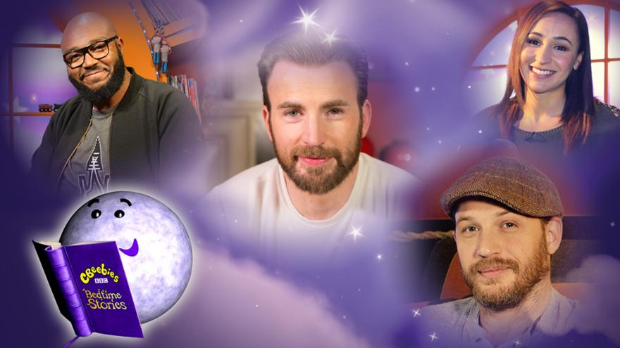 CBeebies Bedtime Stories read by a different celebrity every
