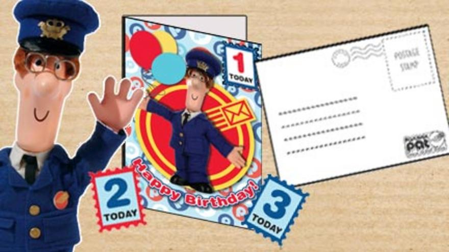 Postman Pat Birthday Card CBeebies BBC – How to Send Birthday Cards to Cbeebies