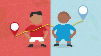 MOTD Kickabout - Quiz: Which derby neighbours are closest?