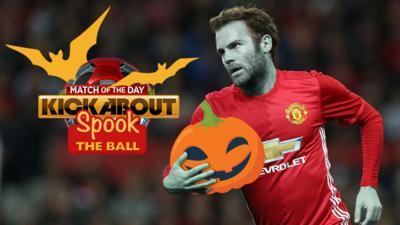 MOTD Kickabout - Quiz: Spook the ball