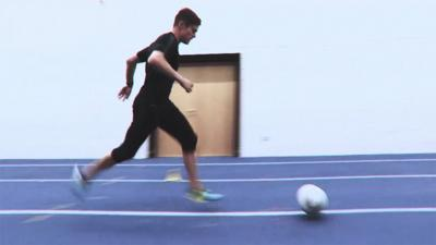 MOTD Kickabout - Learn to run like Bale and Hazard!