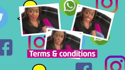Stay Safe - Newsround: Terms and conditions explained