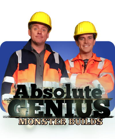 Absolute Genius Monster Builds Logo.
