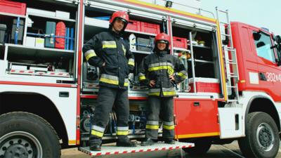 All Over the Place Asia - European Firefighting Championships