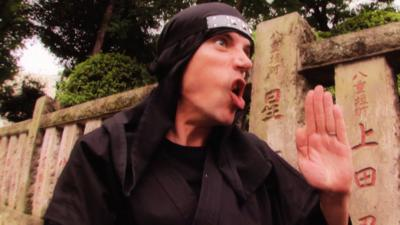 All Over the Place Asia - The Song - Ninjas at the Nezu Shrine