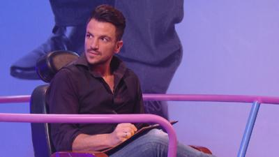 Sam & Mark's Big Friday Wind-Up  - Peter Andre draws Sam and Mark