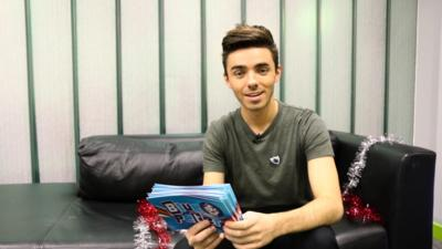 Blue Peter - Nathan Sykes - This or That!?