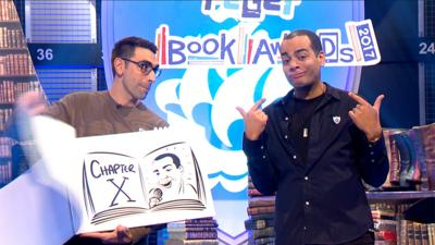 Blue Peter - Check out the BP Book Awards raps