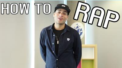 Blue Peter - Doc Brown: How To Rap