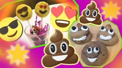 Blue Peter - Make your own emoji pops