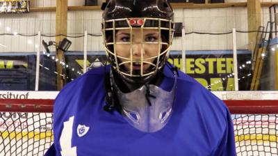 Blue Peter - Ice Hockey challenge: sneak peek!