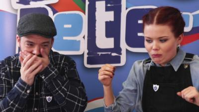 Blue Peter - Blue Peter vs Jelly Beans