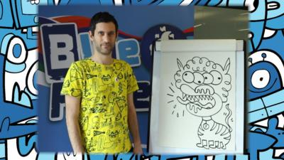 Blue Peter - How to draw a monstrous pet