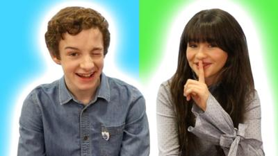 Blue Peter - Malina and Louis Answered Your Questions