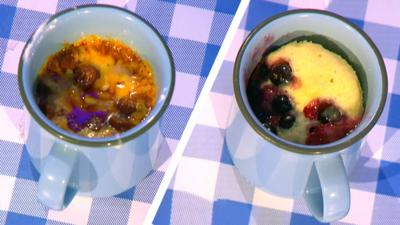 Blue Peter - How to make pizza and cake in a mug