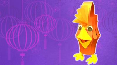 Blue Peter - How to make a rooster lantern