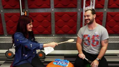 Blue Peter - Lindsey and Barney play silly spells!