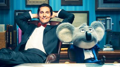 Blue Peter - SING: Matthew McConaughey is Buster Moon