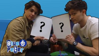 Blue Peter - The Vamps: Portrait Challenge