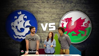 Blue Peter - Presenters vs Welsh